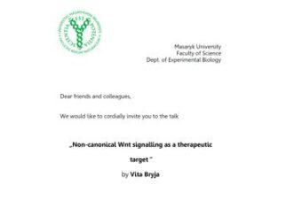 Professor Appointment Lecture by Vita Bryja
