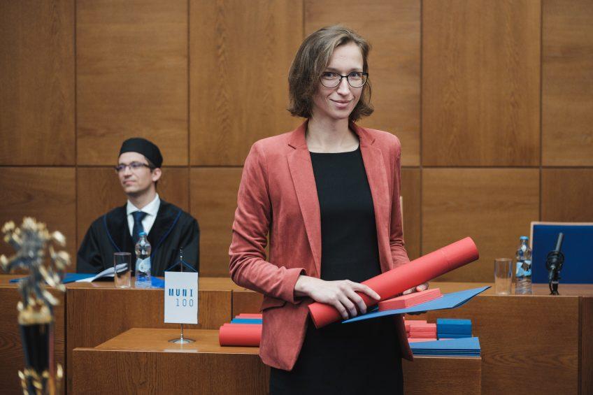 Pavlína Janovská získala Cenu rektora za mimořádné výzkumné výsledky pro mladé vědce do 35 let!