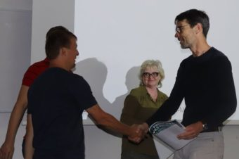 Congratulations! Doc. Martin Vácha was awarded for the best lecture at the PI seminar of the group leaders!