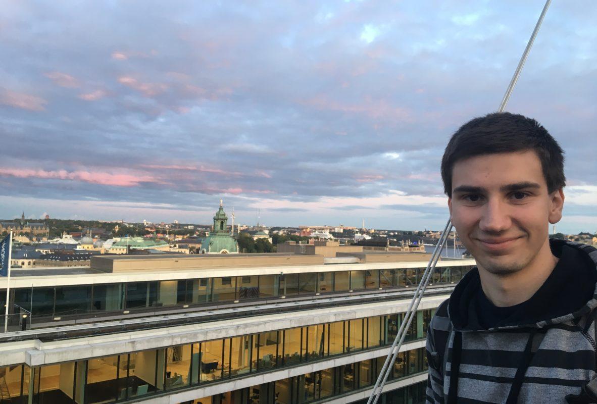 2019 – Mirek na Erasmu ve Stockholmu na Karolinska Institutet
