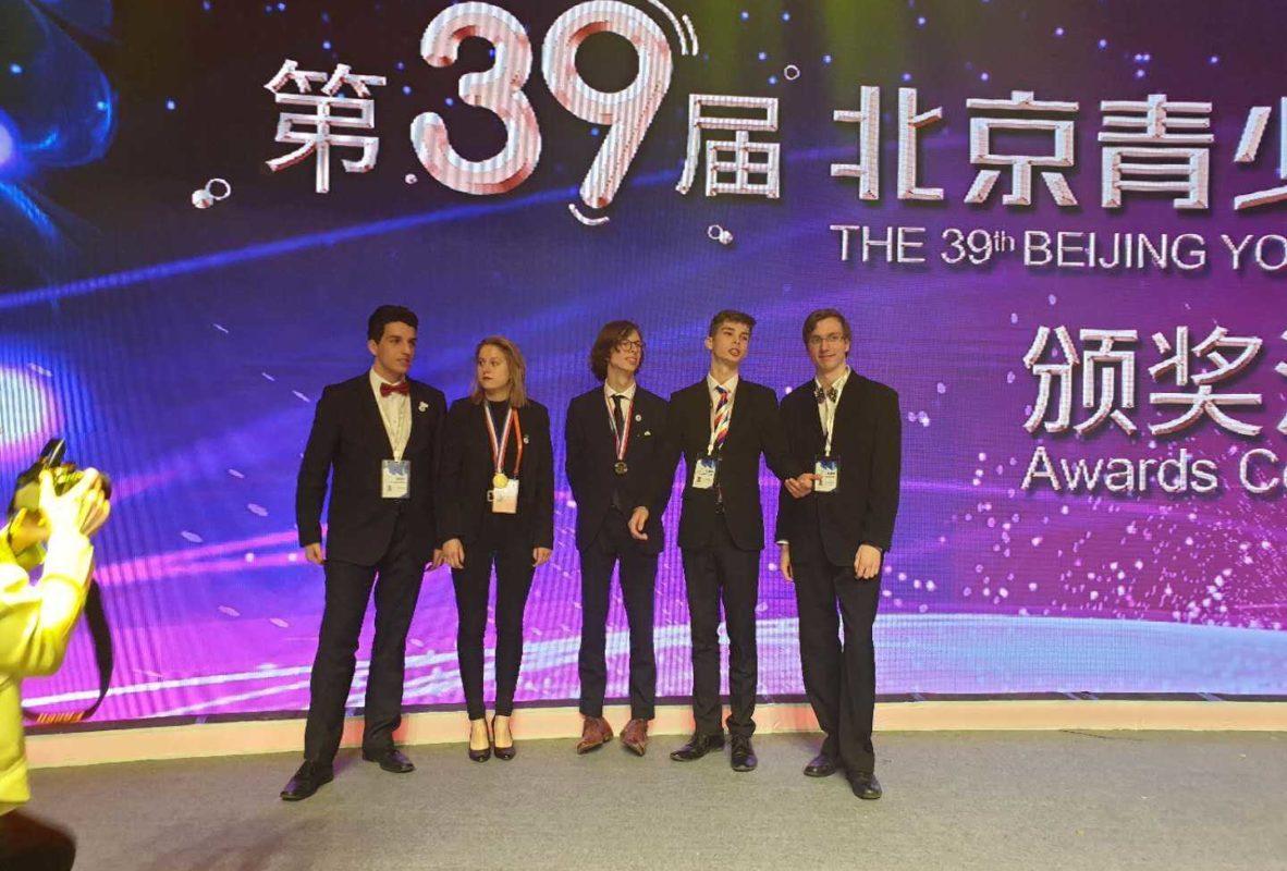 2019 – naše středoškolská studentka na konferenci SOČ v Číně