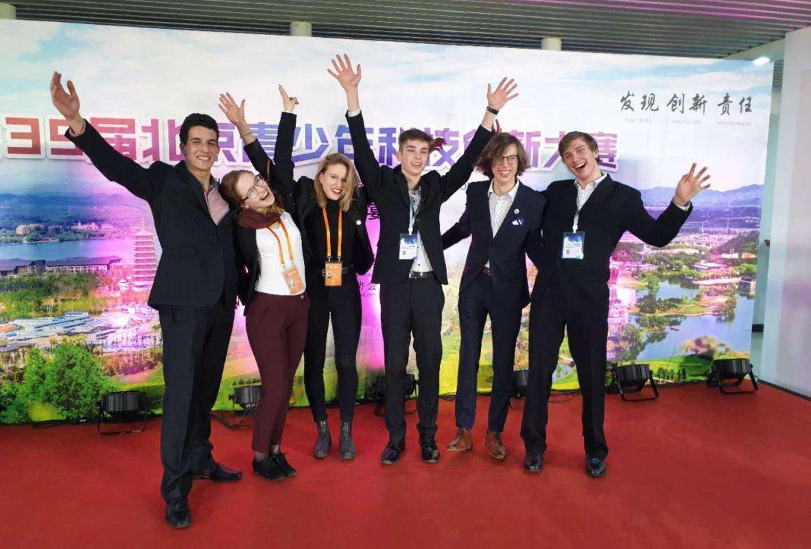 2019 – naše středoškolská studentka na konferenci SOČ v Číně.