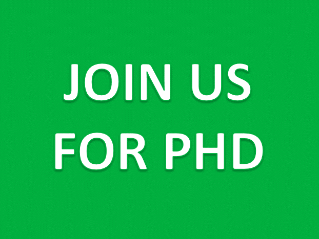 Applications for PhD study opened!