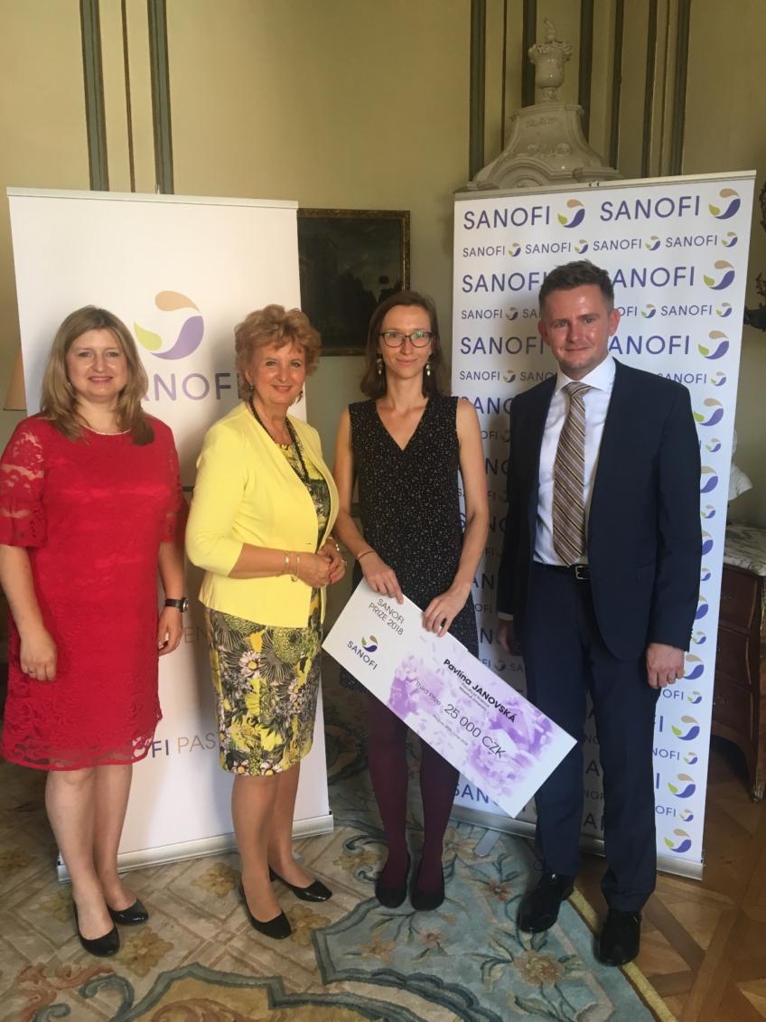 Pavlina Janovska Won the 3rd Place in Sanofi Competition!