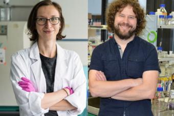 Vitezslav Bryja and Pavlina Janovska awarded as MUNI Scientists