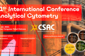 Invitation: 11th International Conference Analytical Cytometry, 2.-5. 10. 2021